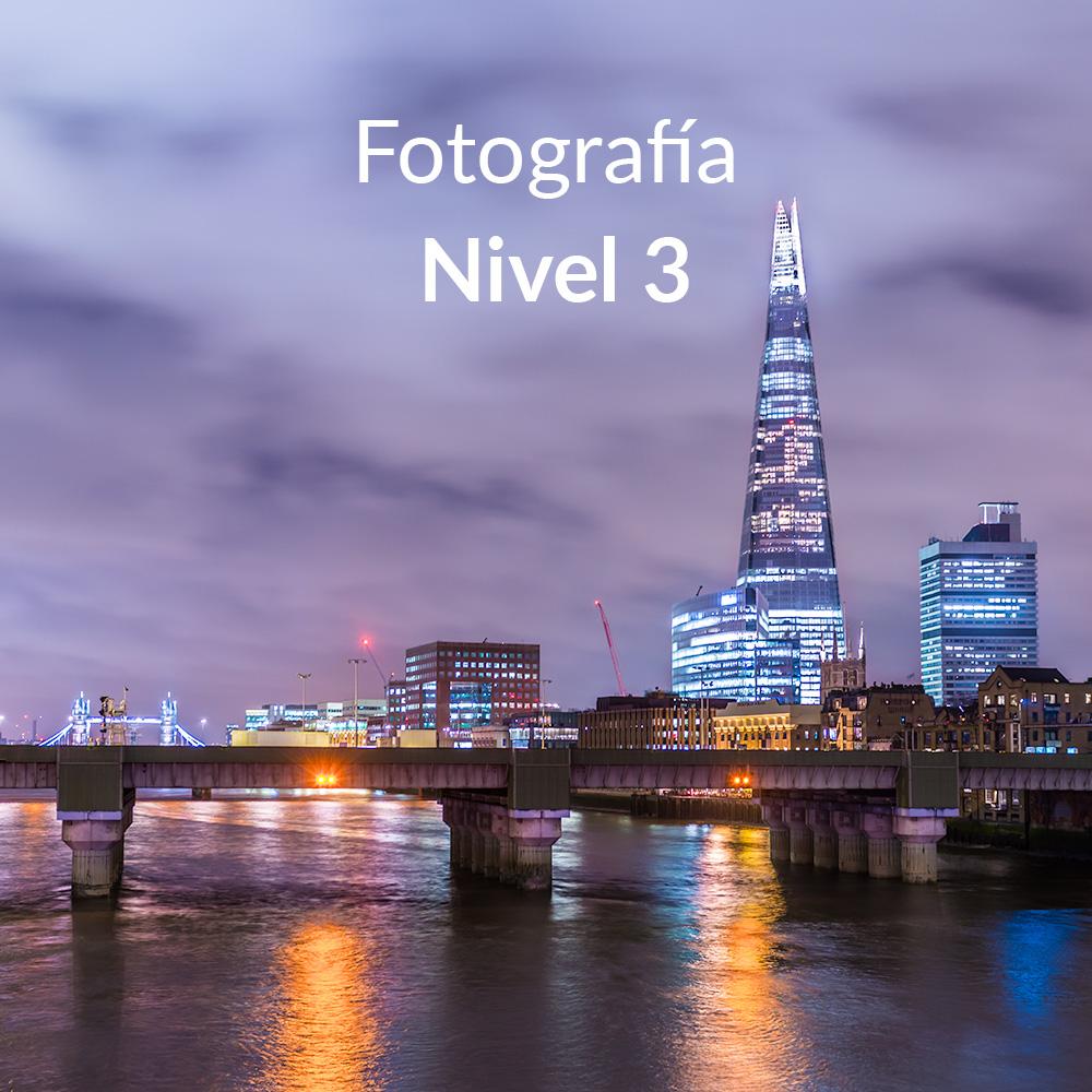 Curso online de fotografía Nivel 3